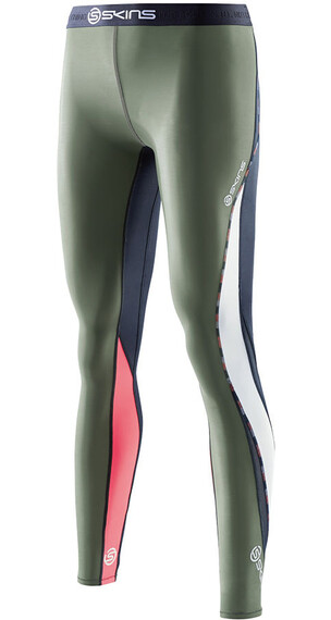 Skins W's DNAmic Long Tights Midnight/Sage